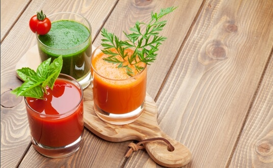 Juices and instant drinks